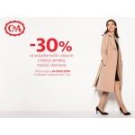 C&A: 30% zniżki na kurtki i płaszcze