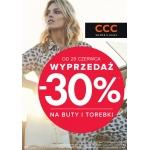 CCC: wyprzedaż 30% na buty i torebki
