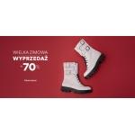 CCC: wielka zimowa wyprzedaż do 70% zniżki na buty damskie, męskie i dziecięce, akcesoria oraz torebki