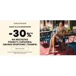 CCC: 30% zniżki na wszystkie półbuty, czółenka, obuwie sportowe i trampki