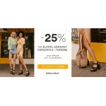 CCC: 25% rabatu na klapki, sandały, espadryle i torebki