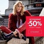 CCC: wyprzedaż do 50% na wybrane produkty
