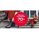 CCC: do 70% zniżki na obuwie dla kobiet, mężczyzn oraz dzieci