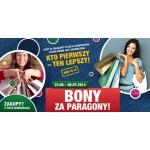 Wymień paragony na bony w centrum Auchan Modlińska w Warszawie