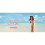 Calzedonia: wyprzedaż do 50% zniżki na kostiumy kąpielowe oraz bieliznę damską, męską i dziecięcą