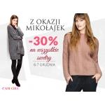 Camaieu: promocja 30% na wszystkie swetry