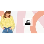 Camaïeu: 50% zniżki na drugą damską bluzkę, kardigan, koszulę, sweter, top, t-shirt