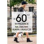 Camaïeu: 60 zł zniżki na zimowe kurtki i płaszcze