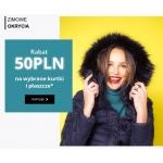 Camaieu: 50 zł zniżki na wybrane kurtki i płaszcze
