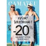 Camaieu: 20% zniżki na wszystkie sukienki