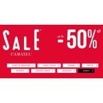 Camaieu: wyprzedaż do 50% zniżki na płaszcze, marynarki, bluzki, sukienki, swetry, spodnie, akcesoria