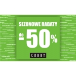 Carry: sezonowe rabaty do 50%