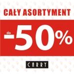 Carry: do 50% zniżki na cały asortyment