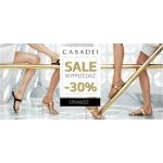 Catwalk: wyprzedaż 30% rabatu na buty marki Casadei