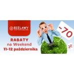 Rabaty na weekend w centrum Bielawy w Toruniu 11-12 października 2014