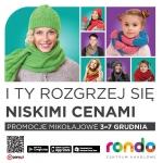 Promocje Mikołajkowe w centrum Rondo w Bydgoszczy 3-7 grudnia 2014