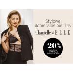 Chantelle: 20% zniżki z magazynem Elle