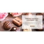Chocolissimo: 15% rabatu na bukiet kwiatów i czekoladki z okazji Walentynek