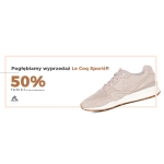 City Sport: 50% rabatu na odzież i obuwie marki Le Coq Sportif