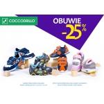 Coccodrillo: 25% zniżki na obuwie