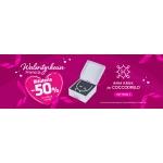 Coccodrillo: Walentynkowa promocja 50% rabatu na trzecią sztukę biżuterii z kolekcji Ania Kruk for COCCODRILLO