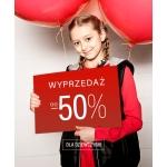 Coccodrillo: wyprzedaż do 50% zniżki na odzież dla dzieci