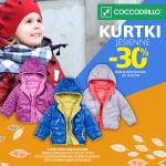 Coccodrillo: 30% zniżki na kurtki jesienne