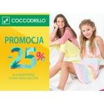 Coccodrillo: 25% zniżki na wybrane produkty