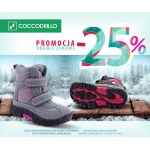 Coccodrillo: 25% promocja na obuwie zimowe