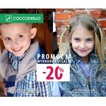 Coccodrillo: 20% promocja na wybrane kolekcje
