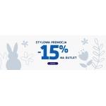 Coccodrillo: 15% zniżki na odzież dziecięcą z kategorii Outlet