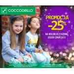 Coccodrillo: 25% zniżki na kolekcjęjesień-zima 2015
