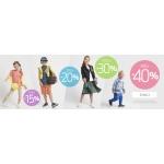 Coccodrillo: do 40% rabatu na odzież i obuwie dla dzieci