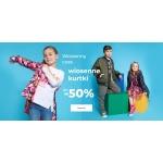 Coccodrillo: do 50% rabatu na wiosenne kurtki dziecięce