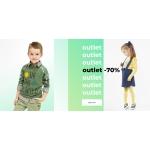 Coccodrillo: 70% zniżki na odzież dla dzieci z kategorii outlet