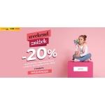 Coccodrillo: Weekend Zniżek 20% rabatu na produkty nieprzecenione z sezonu wiosna/lato 2020