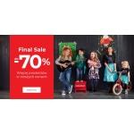 Coccodrillo: ostateczna wyprzedaż do 70% rabatu na odzież dziecięcą