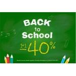 Coccodrillo: 40% zniżki na drugi produkt z okazji powrotu do szkoły