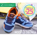 Coccodrillo: 25% zniżki na wybrane modele obuwia