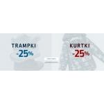 Coccodrillo: 25% zniżki na trampki oraz kurtki