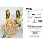 CoZaButy: 20% rabatu na obuwie wybranych marek