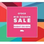 Crocs: wyprzedaż do 50% rabatu na obuwie marki