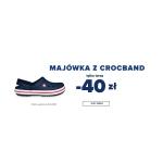 Crocs: buty Crocband  40 zł taniej