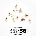 Cropp: 50% zniżki na drugą rzecz z biżuterii