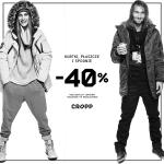 Cropp: 40% zniżki na kurtki, płaszcze i spodnie