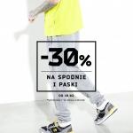 Cropp: 30% zniżki na spodnie i paski