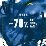 Cropp: 70% zniżki na drugą parę dżinsów