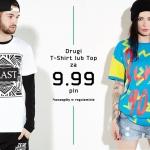 Cropp: drugi t-shirt lub top za 9,99 zł
