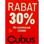 Cubus: 30% rabatu z kuponem rabatowym Cosmopolitan