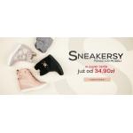 Czasnabuty: ponad 100 modeli sneakersów już od 34,90 zł